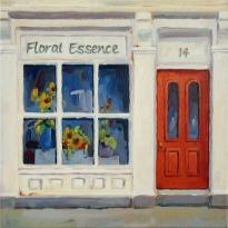 "Floral Essence, 12""x12"""