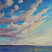 Mackinac Skies, (sold)